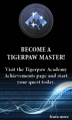Become a Tigerpaw Master with on-demand training
